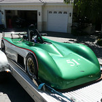"""Tad Laird : """"DSR car built by Pat Prince for Tom Robertson in 2007. Meticulous build quality by Pat. This is a beautiful machine and very fun to drive.""""  For sale ad, November 2, 2012 :: http://dsrforum.yuku.com/topic/9404/2007-Prince-DSR#.UNkMLG_Af-s  Well sorted, professionally maintained , stored at Auto Spa at Sears Point Raceway , Sonoma Ca. Family health matters forces sale . The car is a blast to drive , very quick , very predictable handling . No accidents or shunts . Extremely well built and safe car , very durable and rock solid . All maintenance items were carefully and routinely taken care of without issues .  Car fits drivers up to 6'1"""" and 225lbs. Aluminum monocoque chassis was designed and and hand built by Prince Race Car Engineering in Sterling Ill. Pat Prince has been building racecars for 30 years . Pat built two of these cars for Rodger Cook and Tom Robertson , these were built at a cost of $65 -70K . They were built meticulously with no expense spared . All bearings / rod ends are Aurora A series and PWB series . All suspension parts and chassis tubular parts are 4130N , tig welded and properly normalized . Tub is hard fiveted 6160-T6 , all joints bonded w/Hysol EA9430 . Panel work is done to .010"""" tolerance , and is dead square front to rear . The chassis design was done and stress analyzed on Pro-E , suspension designed and simulated on the Bill Mitchell program .  Wheelbase 87"""" , Front track (centerline of tires) is 51.5"""" , rear track is 49.5"""" , weight 860lbs. wet . Recent ATL fuel cell replacement with new firewall / heat shielding installed . Custom stainless header with Iconel Shield (wrap) system to contain heat from engine and fuel cell . Rear exiting exhaust for sound control , option for (Laguna Seca) second muffler . New Stohr single element rear wing . Double adjustable Penske shocks by Stimola .  Low hr. GDRE 2006 Suzuki GSXR 1000 with .015 milled head with billet baffled wet sump pan . 2 track (not test) days on rebuild . Spares - """